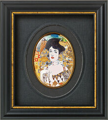 "Miniature porcelain painting ""Adele Bloch-Bauer"" (around 1907)"