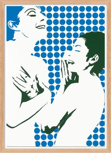 """Werner Berges: Bild """"Schwimmer"""" (1968)"""