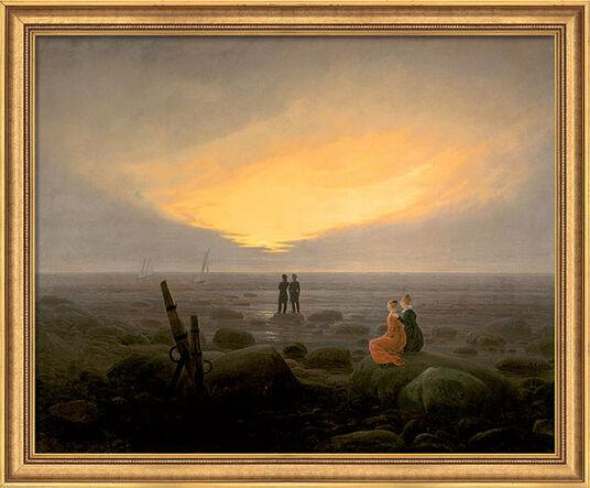 Landschaftsmalerei romantik friedrich  Caspar David Friedrich - Meister der Romantik | ars mundi - Die ...