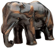 "Sculpture ""Mother Elephant"", Bronze"