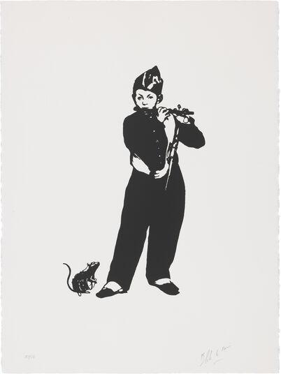 """Blek le Rat: Bild """"Piedpiper (Flötist)"""" (2016)"""