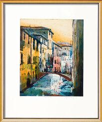 "Bild ""Venedig"" (2008), gerahmt"