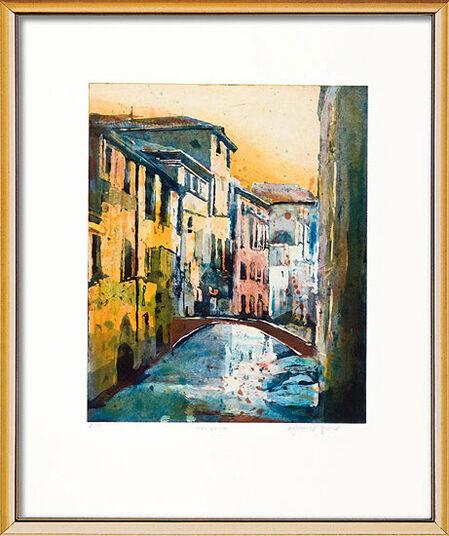 "Gerhard Hofmann: Bild ""Venedig"" (2008), gerahmt"