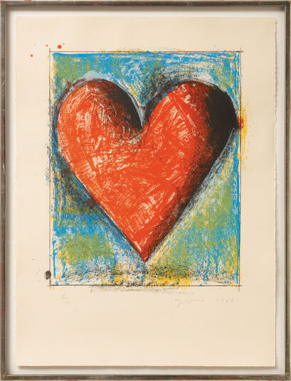 "Jim Dine: Bild ""The Heart"" (1996)"
