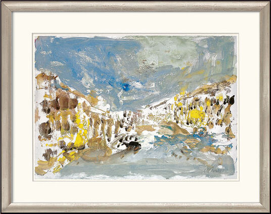 "Armin Mueller-Stahl: Bild ""Venedig"" (2008), gerahmt"