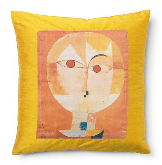 "Petra Waszak: Cushion ""Klee"""