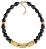 Necklace 'Onyx Judith'