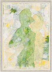 """Bild """"Impressionen eines Sommers 23"""" (1997) (Original / Unikat), gerahmt"""