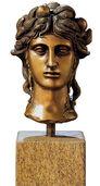"Bust ""La Testa"", bronze"