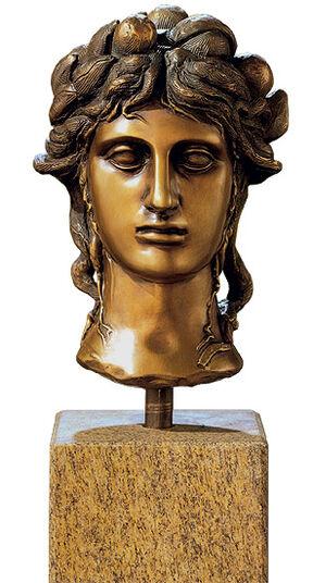 """Carlo Maria Mariani: Büste """"La Testa"""", Bronze"""