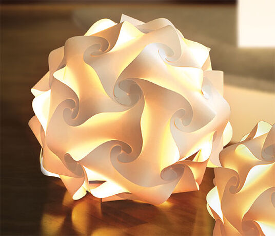 Spherical lamp 'Ray' (big version)
