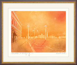 "Picture  ""Sunset Light in Venice"" (2005)"