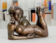 "Sculpture ""China Girl"" (2007), bronze"