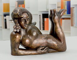 "Sculpture ""China Girl"" (2007), bronze"