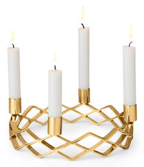 Adventskranz ʺEveʺ, Version vergoldet