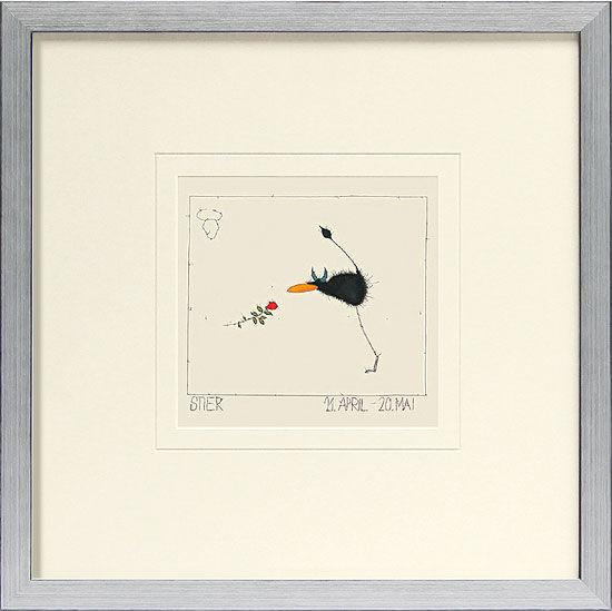 """Picture """"Taurus (21.4.-20.5.)""""."""