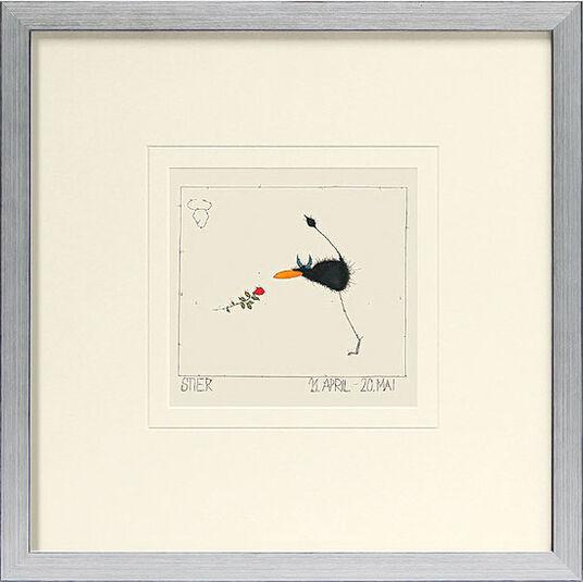 """Michael Ferner: Picture """"Taurus (21.4.-20.5.)""""."""