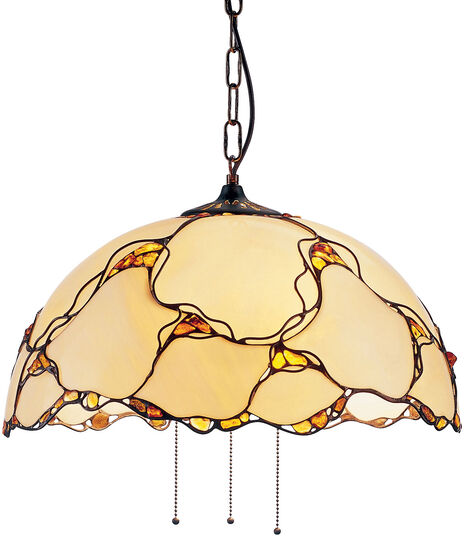 Louis C. Tiffany: Drop light 'Natural Amber'
