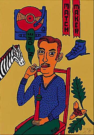 Kitty Kahane: Painting 'Matchmaker', 2002