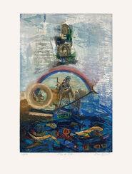 """Bild """"L'or du Rhin"""" (1993), ungerahmt"""