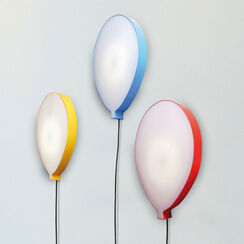 "LED-Wall Lamp ""Hi Lights Balloon Red"""