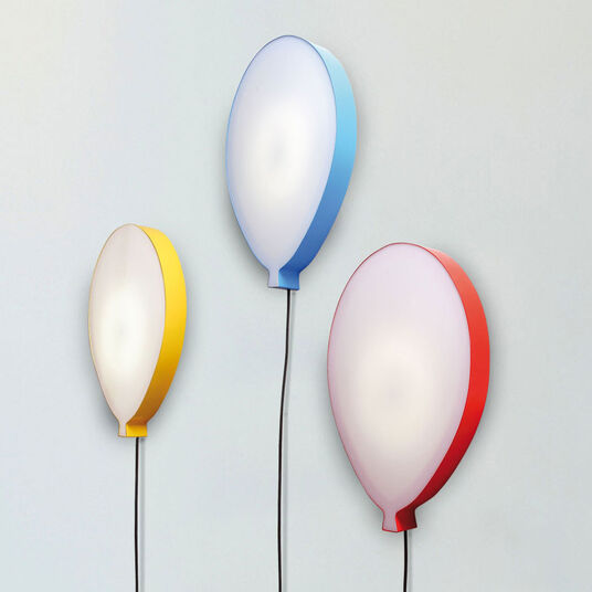 "LED-Wandleuchte ""Hi Lights Ballon Rot"""