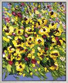 """Bild """"Blumenstrauß gelb"""" (2016) (Unikat)"""