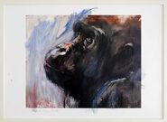 "Bild ""Gorilla 3"" (2017) (Unikat)"