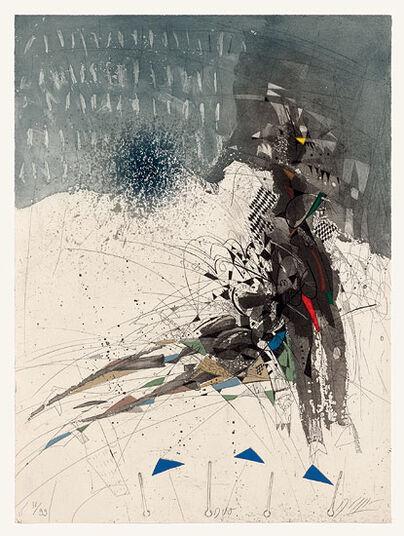 "Georges Dussau: Bild ""Duo"" (1996), ungerahmt"