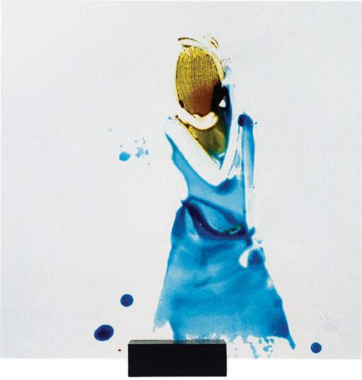 "Nabo Gaß: Glasobjekt ""Flatrate II"" (2011) (Original / Unikat)"
