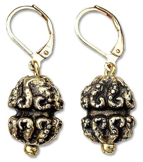 """Petra Waszak: Earrings """"Treasure"""""""