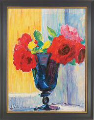 "Picture ""Rose in blue vase"""