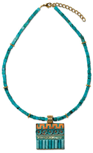 "Petra Waszak: Necklace ""Nile"""