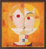 "Art print ""Senecio"" (1922), framed"