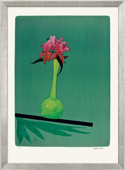 "Bild ""Gelbe Vase"" (1997), gerahmt"