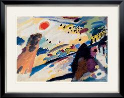 "Bild ""Romantische Landschaft"" (1911), gerahmt"