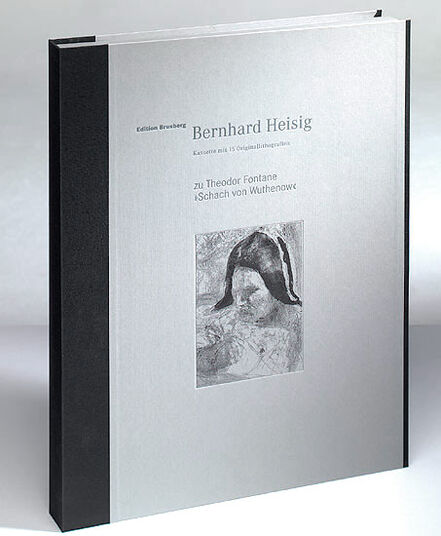 """Bernhard Heisig: Cassette with 15 pictures to Theodor Fontane's novel """"Chess of Wuthenow"""""""