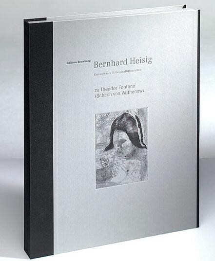 """Bernhard Heisig: Sammlerkassette zu Theodor Fontanes Erzählung """"Schach von Wuthenow"""" (15 Bilder, inkl. Buch)"""