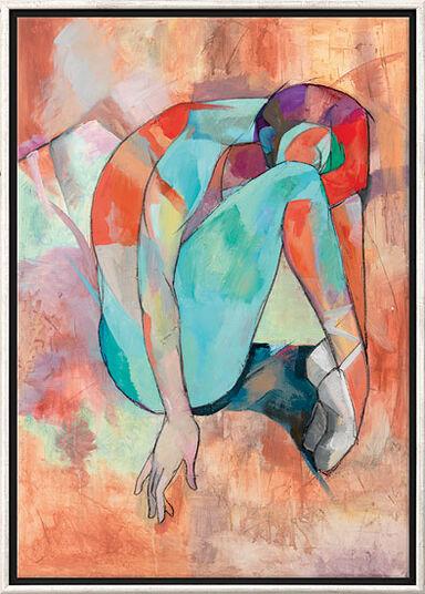 "Marina Krasnitskaya: Bild ""Ballerina"", gerahmt"