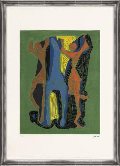 """Marino Marini: Bild """"Marino from Goethe - Tafel II"""" (1979)"""