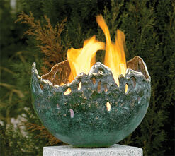 Green fire bowl (version without granite Tele)