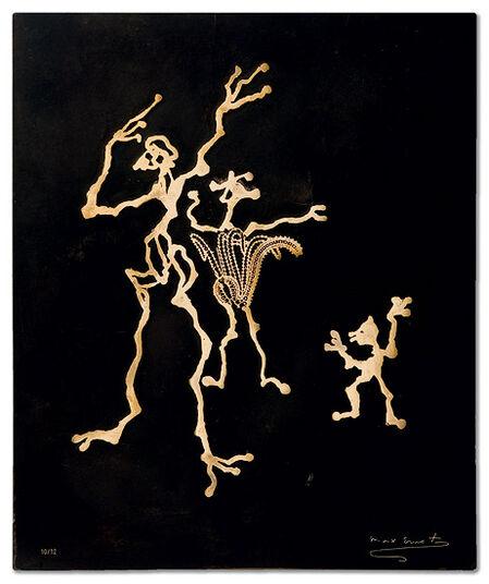 """Max Ernst: """"Bronzerelief X"""""""
