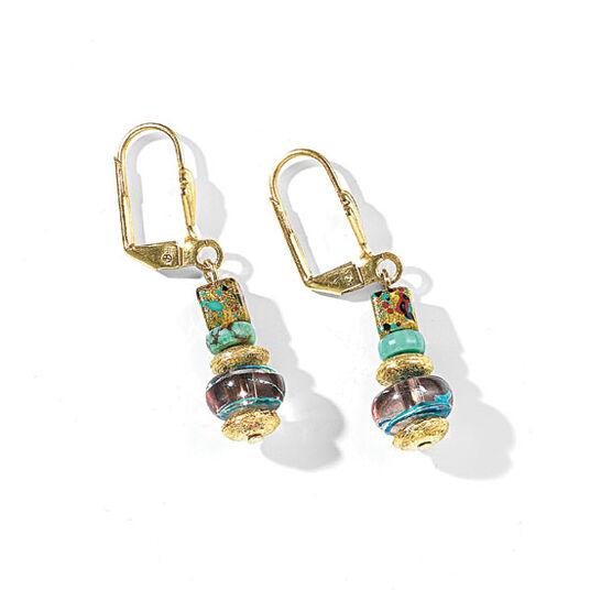 """Petra Waszak: Earrings """"Laburnum"""""""