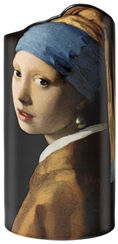 "Porcelain Vase ""Girl with the Pearl Earring"" (1665)"