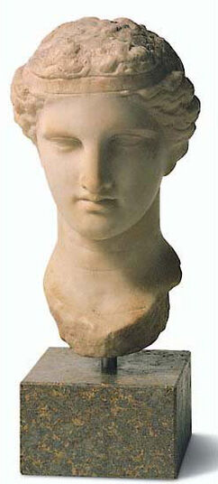 Head of Dionysos