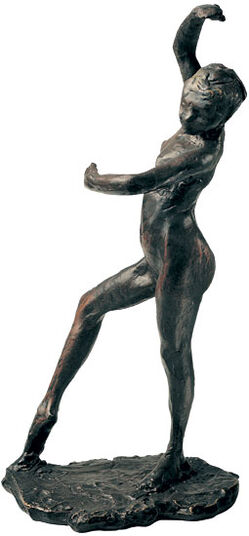 "Edgar Degas: Skulptur ""Spanische Tänzerin"", Version in Bronze"