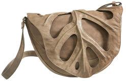 """Shoulder Bag """"Leaf"""", Taupe"""