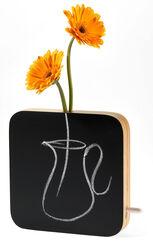 """Vase """"Schiefertafel"""" (ohne Deko)"""