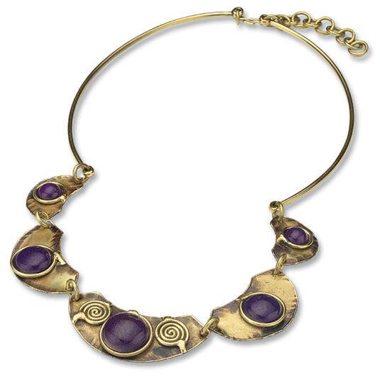 "Necklace ""Violetta"""