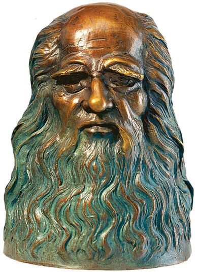 "Leonardo da Vinci: ""Bust"", bronze edition"
